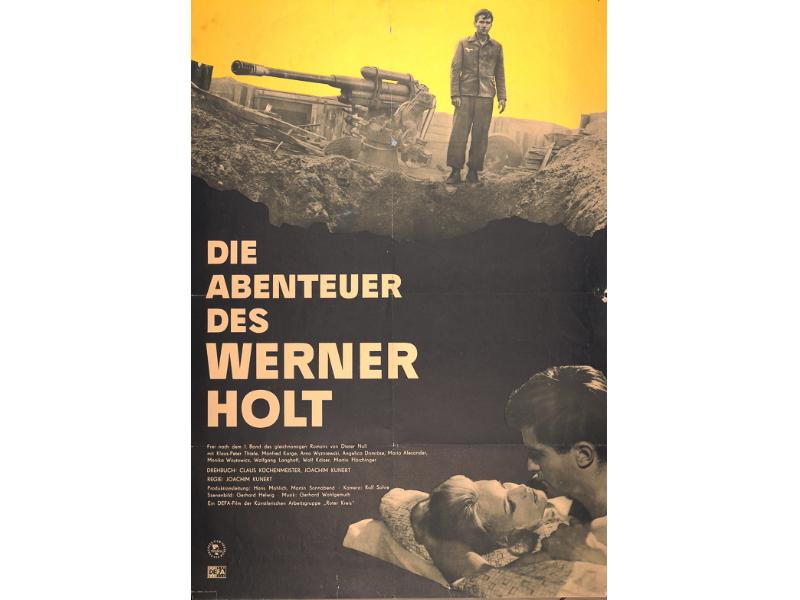 """Filmplakat """"Die Abenteuer des Werner Holt"""""""