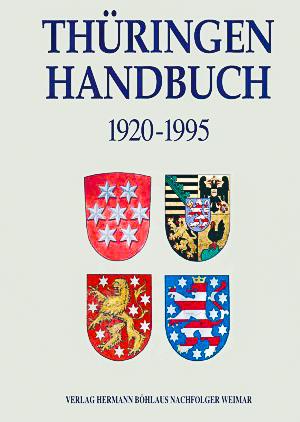 Titelbild des Thüringen-Handbuchs