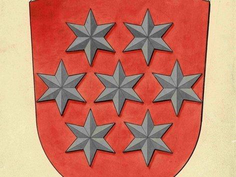 Wappenzeichnung Land Thüringen 1921