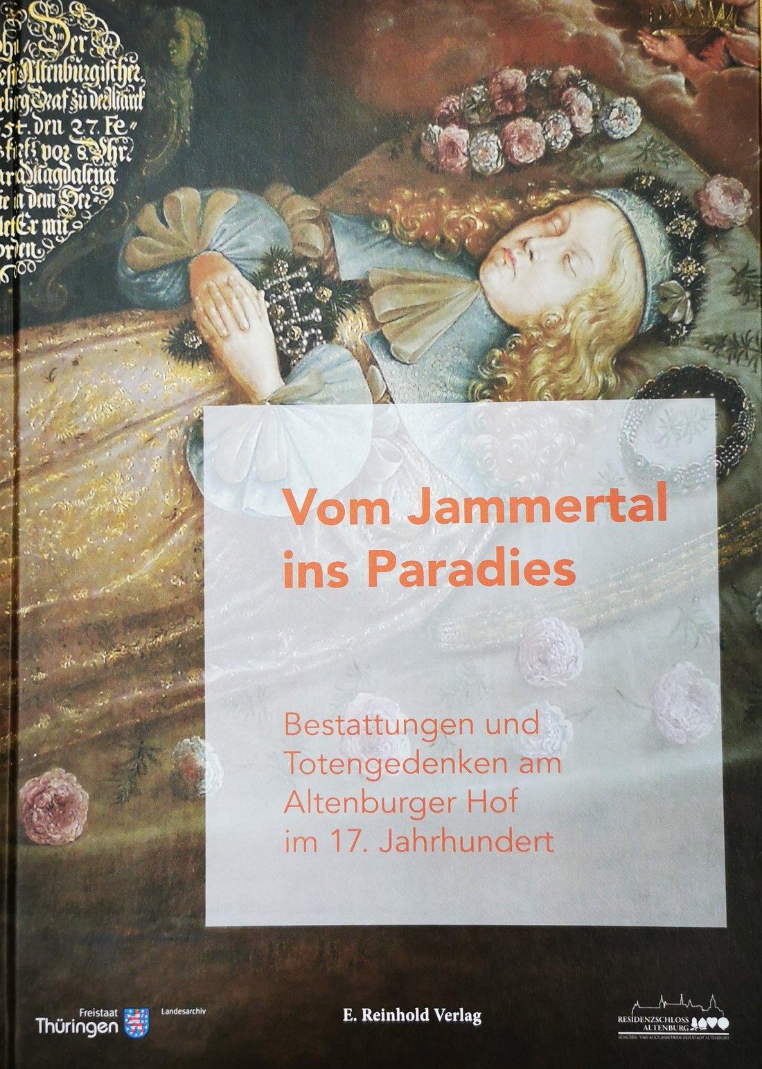 """Buchcover """"Vom Jammertal ins Paradies"""""""