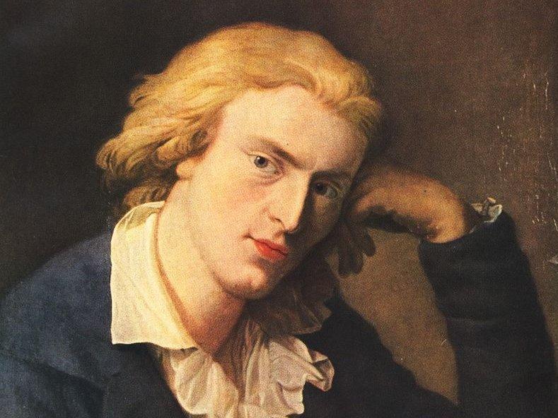 historisches Porträtgemälde Friedrich Schillers