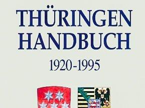 Frontumschlag des Thüringen-Handbuches, obere Hälfte
