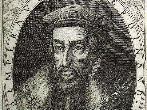 Kupferstich König Ferdinands I.